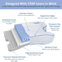 Contour Products CPAPMax Pillow 2.0 is a unique cpap bed pillow that promotes better comfort, so you can stay compliant