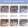 CPAP Pillow works with any cpap mask type or brand
