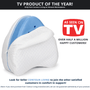 #1 TV Pillow of the Year in 2019 - Also maintains Amazons #1 Best Selling Leg Pillow in Leg Pillow and Positioner category.