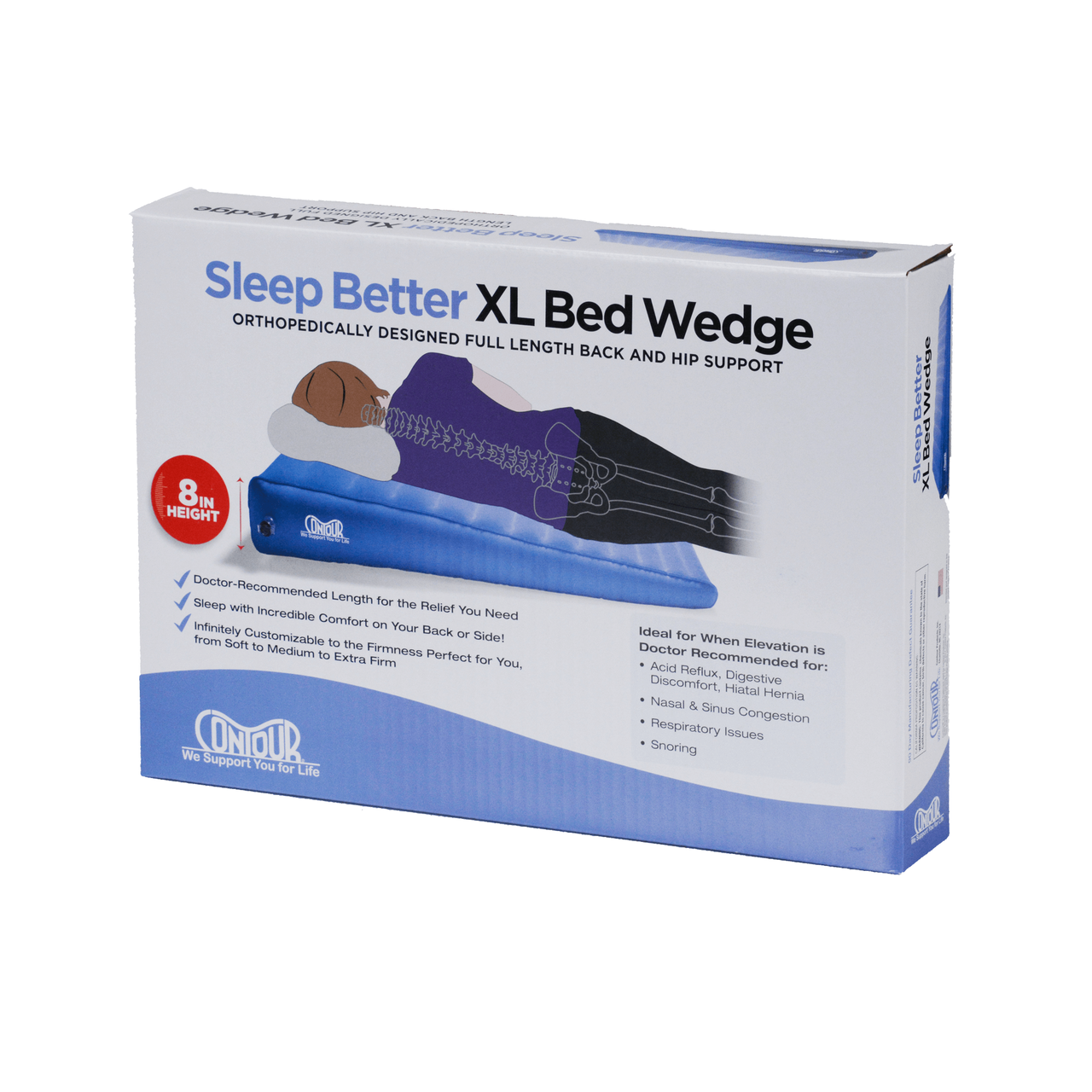 Acid Reflux Inflatable Bed Wedge