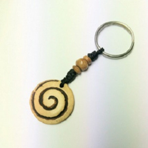 Keyring Horn 5 Assorted styles Approx 10-12cm