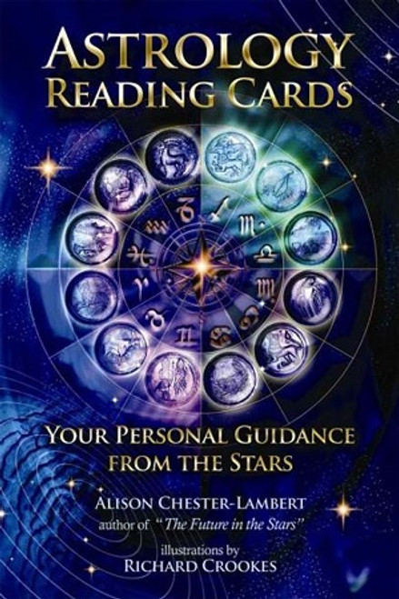 Astrology Reading Cards  This card deck was designed by an international leading astrologer as a simple, easy-to-use pack that utilizes the archetypal energies of astrology to answer questions about the Present and the Future. Select a card from each of 3 separate sets; the Zodiac.
