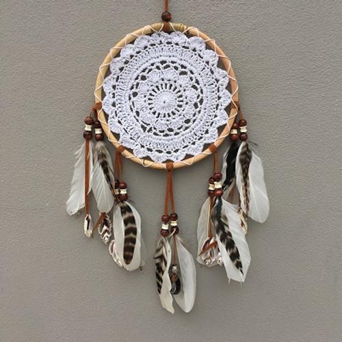 Dreamcatcher Tribal Lace & Shells LG  Approx 24cm x 55cm