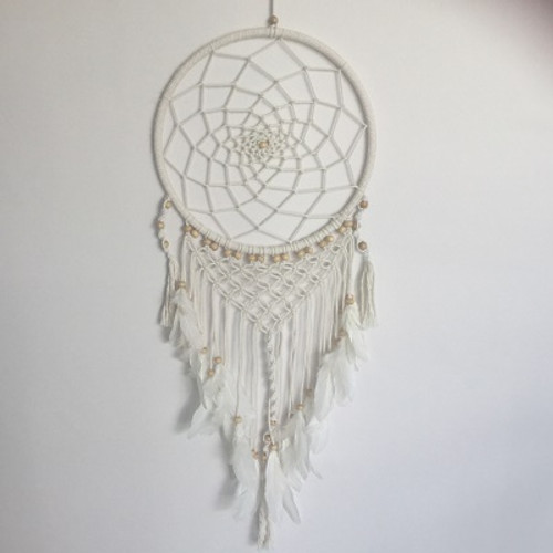 Dreamcatcher Macrame  Gorgeous with feathers Approx 32cm x 75cm