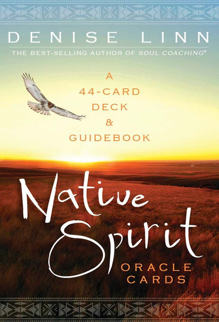Oracle Card Native Spirit Created by Denise Linn, an enrolled member of the Cherokee tribe and the author of the books Quest and Kindling the Native Spirit, this 44-card deck with companion guidebook holds the keys to unlocking a wondrous realm where you'll discover what destiny holds for you.