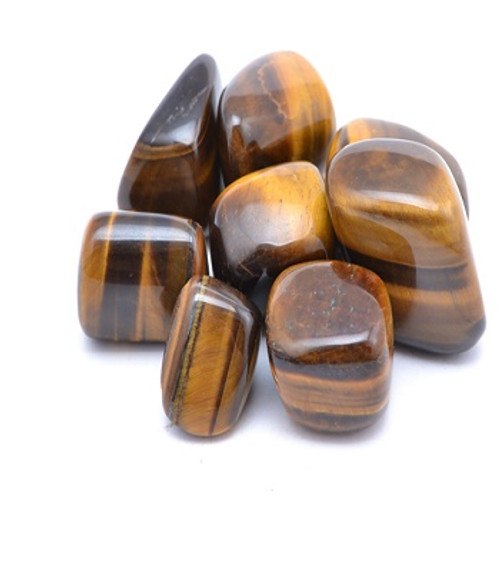 Tiger Eye Gold  See our Crystal Page for properties & uses. Approx size 1.5-3.5