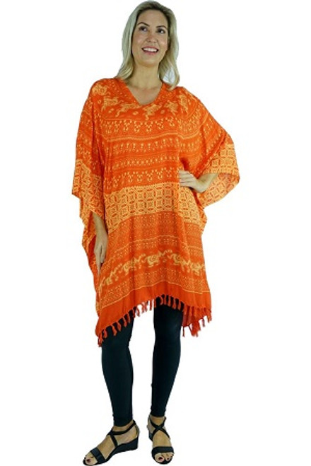 Kaftan Elephant Orange