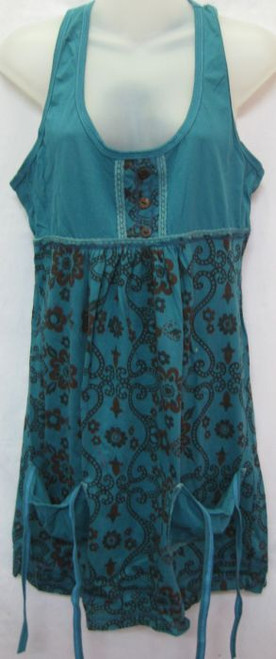 Tunic Denium  Button detail at fron with two front pockets only M (10) & XL (14)