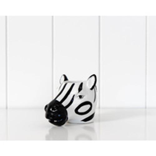 Vase Zebra Face 9cm x 13cm