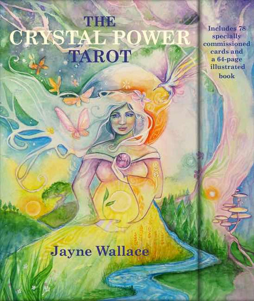 Crystal Power Tarot Cards  Take the tarot beyond divination into the magical realm of self-empowerment with this beautiful 78-card deck, which is infused with the wisdom of crystals and accompanied by a 64-page guidebook.Featuring more than forty stunning stones.