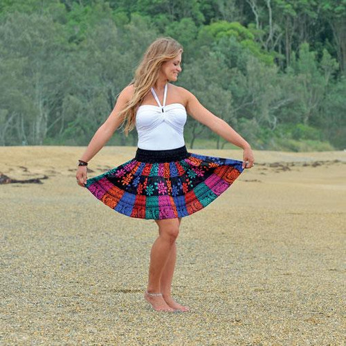 Skirt Panelled One size fits up to 16