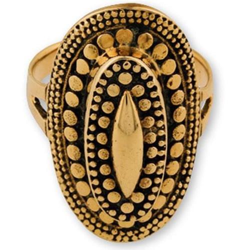 Gypsy Bronze Oval Size 7