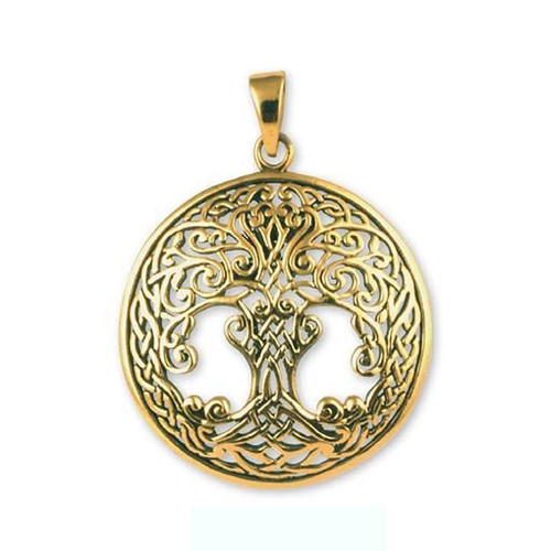 Tree of Life Pendant  Gypsy Rose Bronze