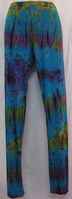 Leggings Torquoise Size XXL(12-18) 95% viscose 5% spandex