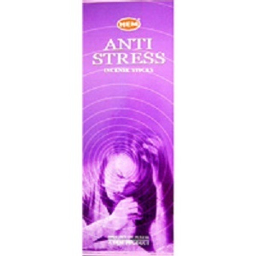 Incense Hem Anti Stress  Hex box of 20 sticks $3 each or 4 for $10 (2.50 ea)