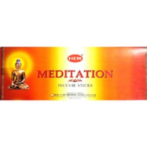 Incense Hem Meditation  Hex box of 20 sticks $3 each or 4 for $10 (2.50 ea)