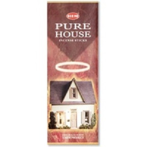 Incense Hem Pure House  Hex box of 20 sticks $3 each or 4 for $10 (2.50 ea)
