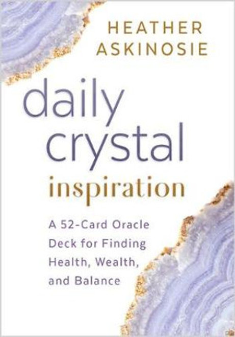 Daily Crystal Inspiration Cards Tap into your crystal intuition with this 52-card oracle deck for transformation and inspiration in your everyday life.  Are you seeking daily crystal inspiration to elevate your life and relationships? With this easy-to-use 52-card oracle deck, all you need to do is pick a card and trust your soul's intuition. Each card features colorful photographs of Mother Earth's most energy-filled crystals and short descriptions of each crystal's strongest ability and core soul affirmation.
