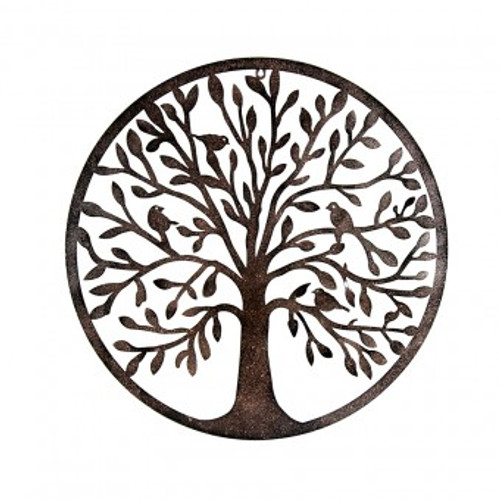 Metal Tree of Life Hanger  Approx 60 x 60cm