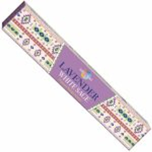 Sacred Elements Lavender & White Sage  Purifying smudge incense