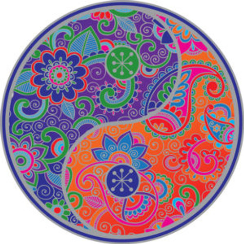 SunSeal Yin/Yang Mandala Looks great stuck to a wall or window