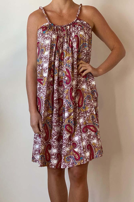 SD Delta Dress Carnival Maroon  Perfect for hot summer days Size fits 8-16