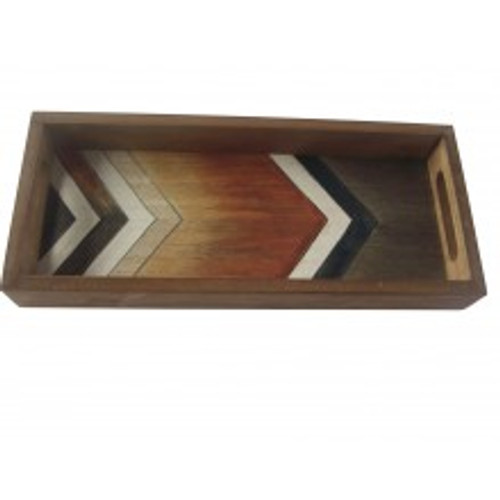 Boho Tray with handles