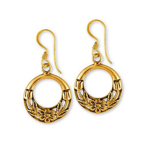 Earring Gypsy Bronze Hoop.