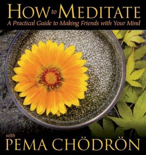 How to Meditate with Pema Chodron (5 CD) When it comes to meditation, Pema Ch?dr?n is widely regarded as one of the world's foremost teachers. Yet she's never offered an introductory course on audio?until now. On How to Meditate with Pema Ch?dr?n, the American-born Tibetan Buddhist nun and bestselling author presents her first complete spoken-word course for those new to meditation. Through traditional insights and her personal guidance, offered in 12 sitting sessions, Pema Ch?dr?n will help you honestly meet and compassionately relate with your mind as you explore: – he basics of mindfulness awareness practice, from proper posture to learning to settle to breathing and relaxation – Gentleness, patience, and humor?three ingredients for a well-balanced practice – Shamatha (or calm abiding), the art of stabilizing the mind to remain present with whatever arises – Thoughts and emotions as sheer delight?instead of obstacles?in meditation From my own experience and from listening to many people over the years, I've tried to offer here what I feel are the essential points of meditation, explains Pema Ch?dr?n. Now this beloved voice shares with you her accessible approach?simple and down-to-earth while informed by the highest traditions of Tibetan Buddhism?on How to Meditate with Pema Ch?dr?n.