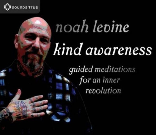 """Kind Awareness (2CDs) When faced with the injustice and suffering of the world, Noah Levine rebelled by getting angry—even though his bitterness almost led to his self-destruction through drugs and violence. What changed? """"I discovered the greatest rebellion of all is an inner revolution fueled not by rage,"""" says Levine, """"but by deep and pervading kindness."""" With Kind Awareness, Levine shares foundational Buddhist practices and personal insights from his own journey to help you cultivate your innate potential for wisdom and compassion. In these two intimate audio sessions, Levine invites you to discover:  – Mindfulness—the Buddha's revolutionary practice for meeting reality with an open, non-judgmental heart – Kind awareness—making generosity and compassion our first, instinctive response to any situation – Forgiveness and lovingkindness—integrating these essential qualities into your meditation practice and everyday life – Precise meditation instruction and expert guidance for beginners and experienced practitioners  """"I once thought that meditation was for happy people trying to be happier,"""" says Noah Levine. """"I now realize that it is also for those of us blessed with a sense of dissatisfaction for the status quo."""" With Kind Awareness, this exceptional teacher invites you discover how revolutionary it can be to meet an imperfect world with a sense of kindness—so we can transform our passion into a meaningful force for good."""