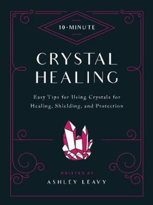 Crystal Healing (10-Minute) 10-Minute Crystal Healing highlights quick, easy, practical ways to incorporate natural, empowering crystals into your life to promote spiritual balance and protect from physical and psychic negativity.  In this portable guide, you'll find profiles of each crystal's natural attributes, legendary power, and holistic benefits as well as its specific energy so it may enhance, heal, or protect you. You'll learn:  What crystals are, from both a scientific and magical perspective  How to choose and care for your crystals  The importance of chakras and color in spiritual healing  How to work with stones for protection and spiritual healing  The alphabetical sourcebook section with information about the uses and benefits of each crystal listed makes it easy to find the exact crystal you need.  Quickly incorporate natural crystal healing and empowerment into your life with this accessible guide.