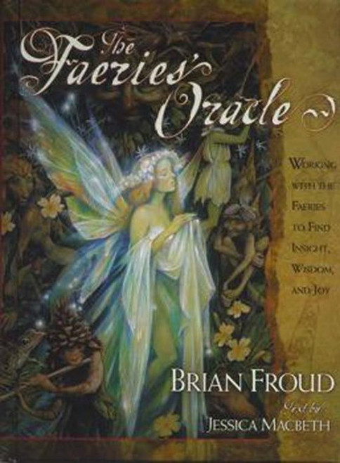 Faeries Oracle GOOD FAERIES/BAD FAERIES, has been one of the most successful illustrated books in Simon & Schuster US' history. Now, Froud brings the appeal of his beautifully illustrated and evocative faeries, trolls, goblins, and green men to the popular practice of divination. A refreshing new approach to tapping into the connections between the natural world and the course of human events, this kit draws directly on the art and wisdom of GOOD FAERIES/BAD FAERIES (UK – Pavillion) and includes: * An elegant, full-colour deck of sixty-six divination cards. * An engaging two-colour book that introduces the most powerful an dimportant members of the faery kingdom * Easy to follow instructions on how to read the cards, with a special emphasis on gleaning answers to issues of spiritual enlightenment and personal direction THE FAERIE'S ORACLE is sure to delight fans of tarot and other divination systems. Even those who spend their time speeding along the information highway are bound to be intrigued by the enchanted path the faeries unveil, a path that reveals the secrets of our souls and magically sheds light on things to come. –