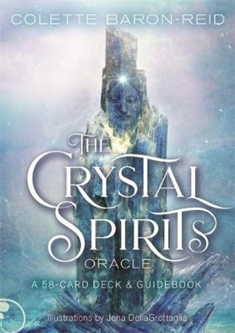 Crystal Spirits Oracle In The Crystal Spirits Oracle, internationally renowned spiritual teacher Colette Baron-Reid explores the unique personalities and properties of 58 crystals, with stunning art by Jena DellaGrottaglia.  Legends about the healing powers of crystals have endured for millennia, with stories passed among ancient healers, medicine men and women, and shamans. Every crystal is a gift from Mother Earth, offering a return to balance and well-being through their stabilizing energy.  With the messages of the crystals, you'll learn how to connect with divine guidance and align with the consciousness of the universe so you can take charge of your destiny.
