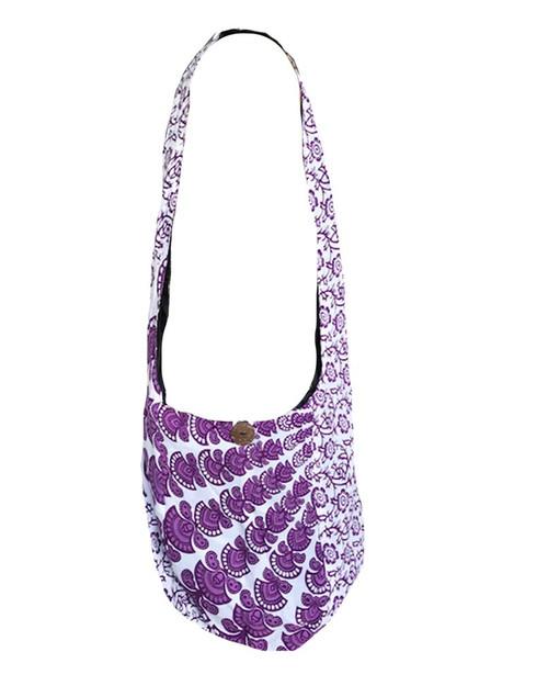 Bag Shoulder Mandala Purple
