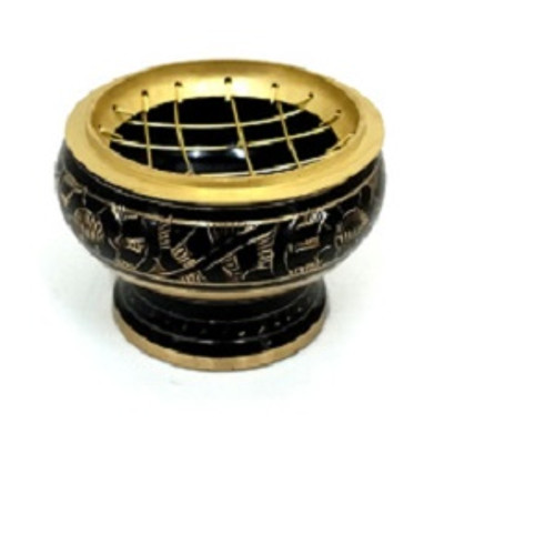 Brass Burner Black 7.5cm