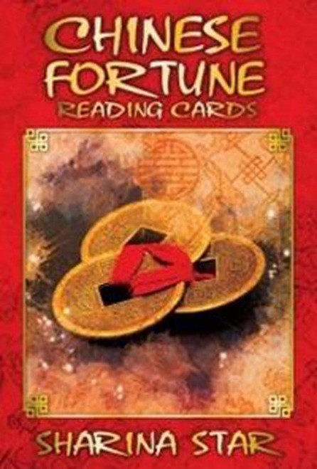 Chinese Fortune Reading Cards Chinese Reading Cards are a divination tool based on ancient Chinese teachings and philosophies for modern day situations. Every card offers an I CHING TIP or luck to enhance your life and set you on course for happiness. The reader can ask the cards various questions from the best timing for a journey to the possible outcome of a business venture, and they will be answered.  Each individual card holds one personal or spiritual message. Includes an easy-to-follow guide book that gives the reader a detailed meaning of the card, plus tips on personal relationships, career and money and a Sharina Power tip.