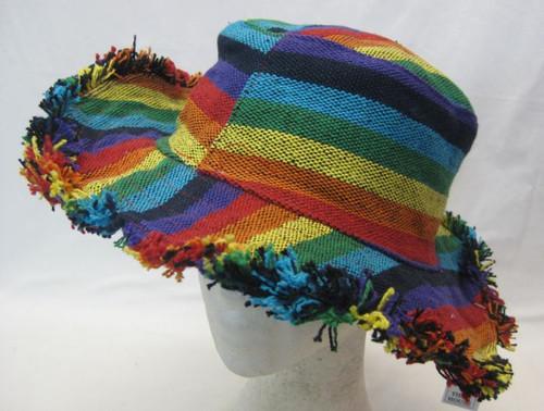 Rainbow Hat Adult Cotton