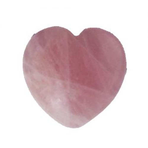Heart Rose Quartz Approx 5x5.5cm