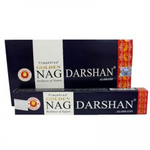 Golden Nag Incense Darshan