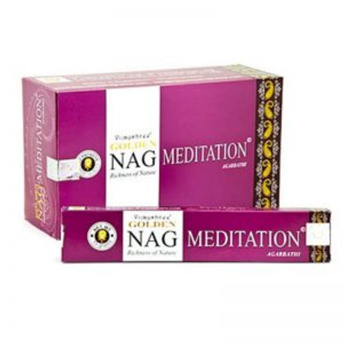 Golden Nag Incense Meditation
