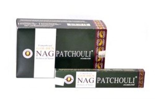 Golden Nag Incense Patchouli