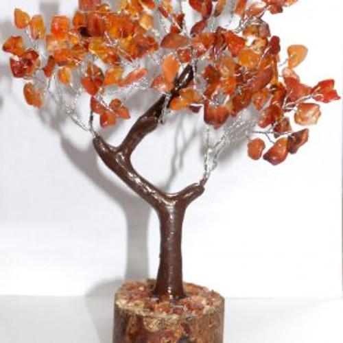 Gem Tree Carnellian 160 Bead Approx 15cm x 15cm