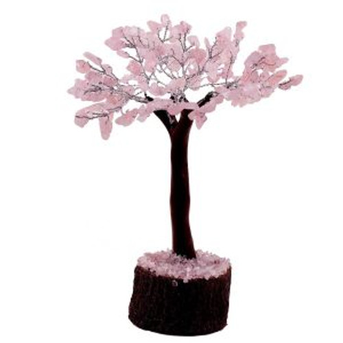 Gem Tree Rose Quartz 160 Bead Approx 20cm x 15cm