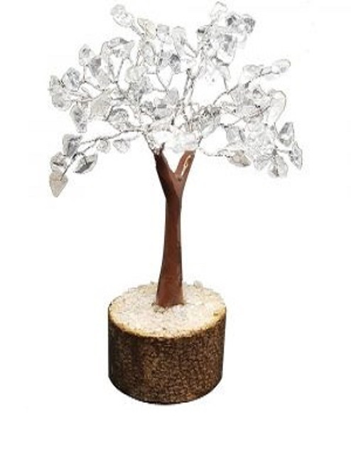 Gem Tree Clear Quartz 160 Bead Approx 20cm x 15cm