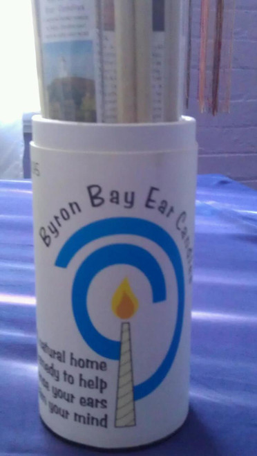 Byron Bay Ear Candles. Relaxing way of removing wax and clearing the passages to prevent & relieve inner ear & sinus associated problems.