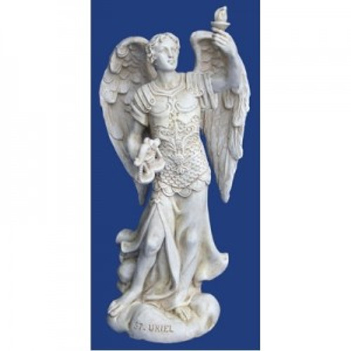 Archangel Uriel. For inspiration, new ideas & emotional balance. Approx 13cm high. Made from polyreisen