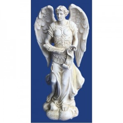Archangel Gabriel. The messanger, communication, guidance & trust. Approx 12cm high. Made from polyreisen