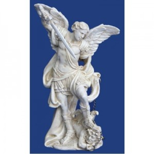 Archangel Michael. The protecter, helps with visions & goals. Approx 13cm high. Made from polyreisen