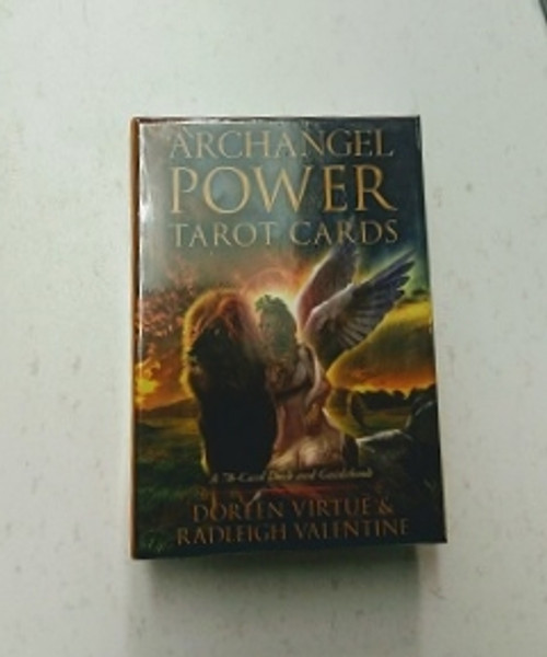 Archangel Power Tarot Cards. By Doreen Virtue & Radleigh Valentine. Get answers and courage with the Archangel Power Tarot Cards. It's not enough to receive answersyou also need courage, motivation and empowerment to take steps based on those answers. Now you can receive accurate guidance in a gentle way and get the confidence to act upon it!