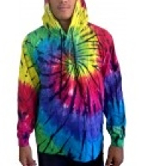 Tye Dye Dark Night With hoodie, 100% cotton